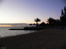 Sunrise in south Mauritius