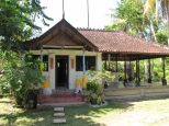 Sala pranzo con tempio annesso @ashram Gandhi