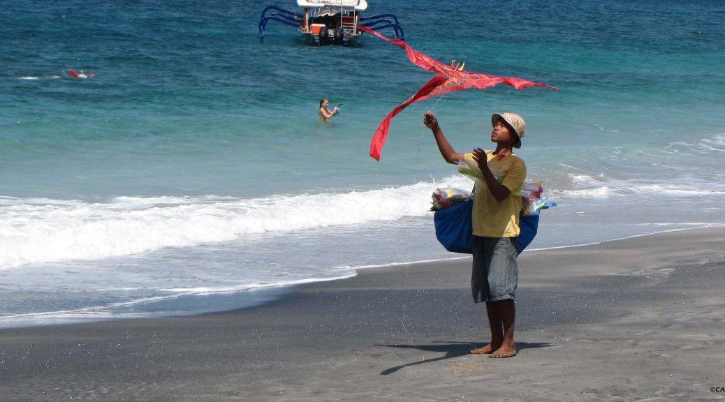 Kite @White Sand Beach bali