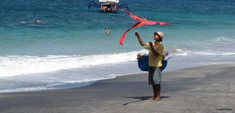 Kite @White Sand Beach bali