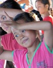 Dancing @Pura Goa Lawah