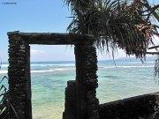 Gate to the beach @ashram