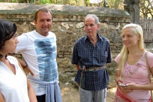 Ashram guests