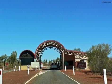 Uluru - Kata Tjuta National Park - ingresso