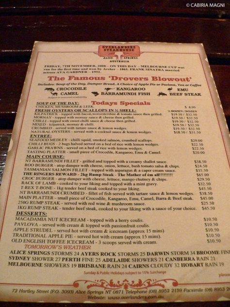 Overlanders Steakhouse