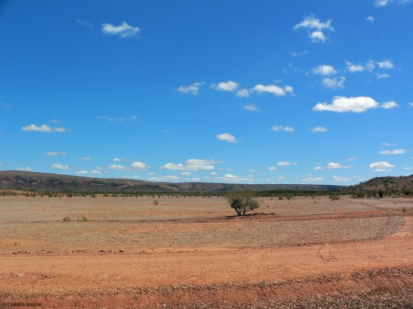 The Red Centre, in the middle of nowhere