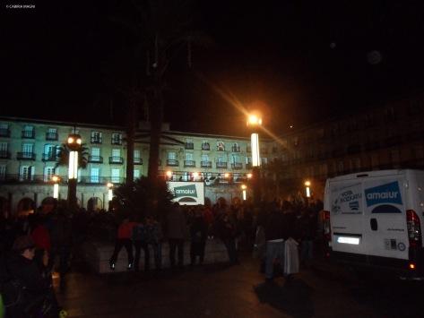 Poca gente in giro @Bilbao