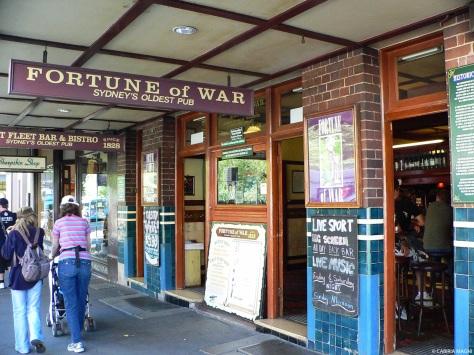 Oldest pub in Sydney