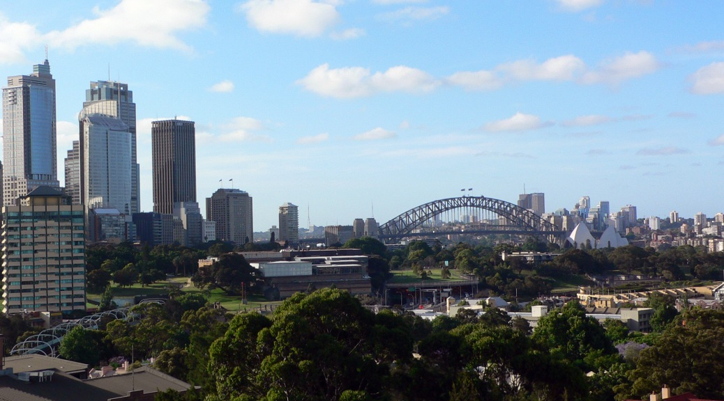 sydney view from my room
