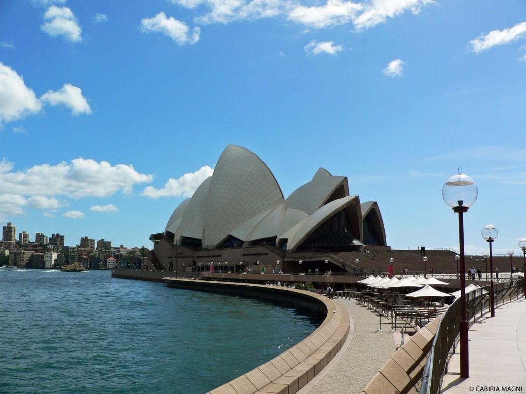 opera house sydney cabiria magni