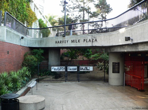 Harvey Milk Plaza, Castro