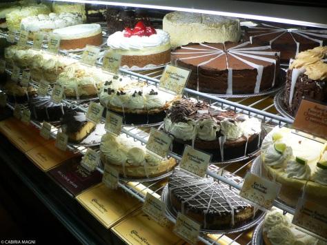 Cheesecake Factory, un altro posto da non perdere.