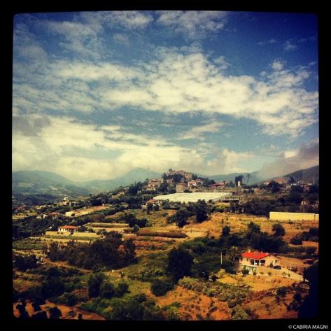 From the window_Liguria