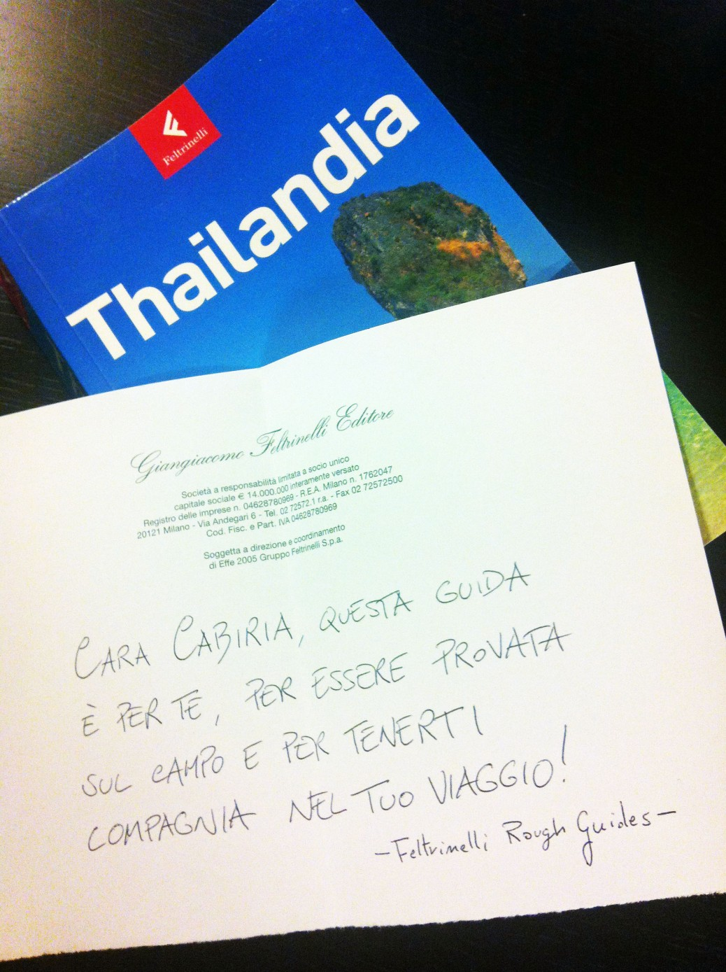 rough guide feltrinelli thailandia