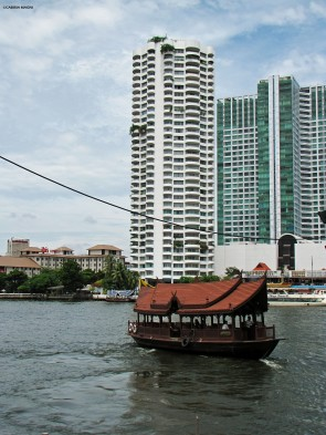 Old and new on Chao Phraya