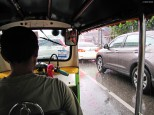 Tuk tuk in rainy season