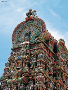 Wat Khaek - indian temple