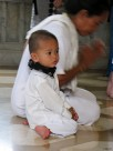 Child at the temple, Bangkok
