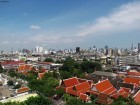 Bangkok from the top of the Golden Mountain