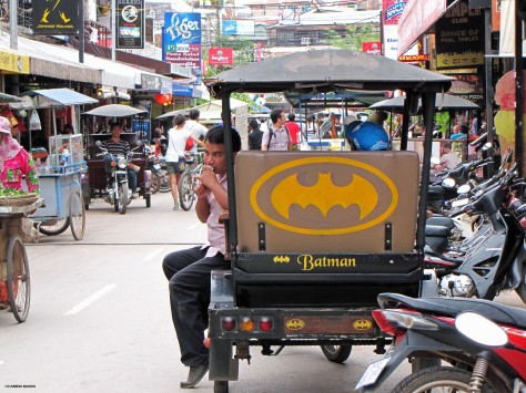 Batman in Siem Reap