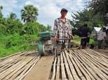 Bamboo train, Battambang province, Cambodia