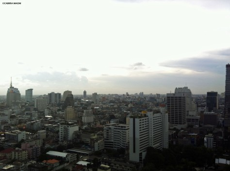 Bangkok, room view.