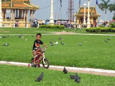 Child in Phnom Penh, Cambodia