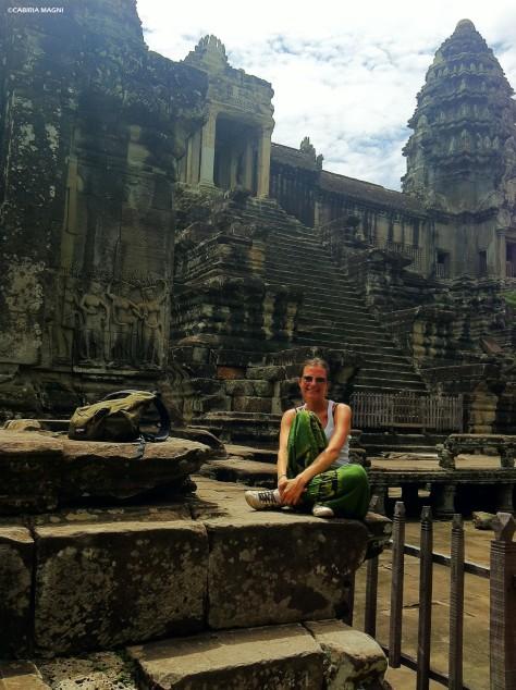 Girl @Angkor Wat, Cambodia