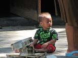 Balinese child