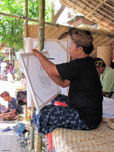 Artist in Ubud