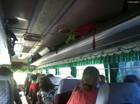 Inside the bus (the 1st one)