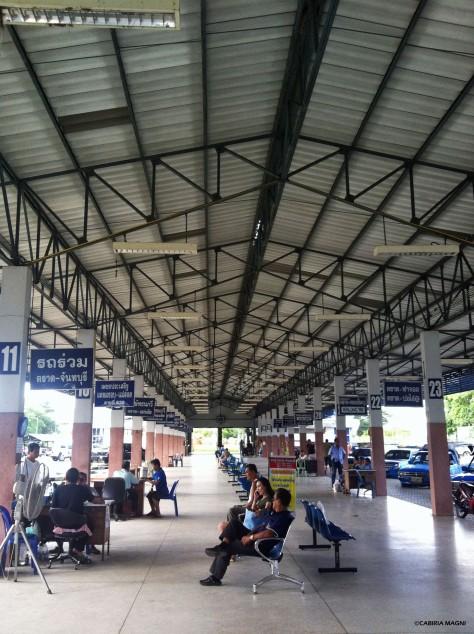 Trat, stazione dei pullman