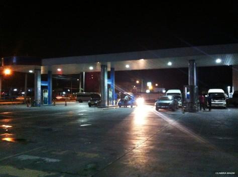 Sosta benzina: una delle tante