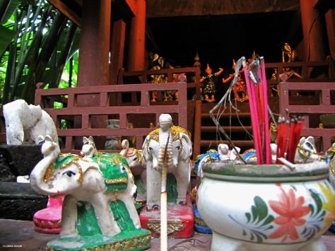 Casa degli spiriti, interno - Bangkok