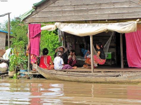 Life in floating villages