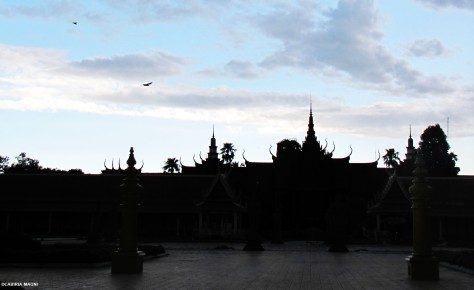 Phnom Penh, the Royal Palace