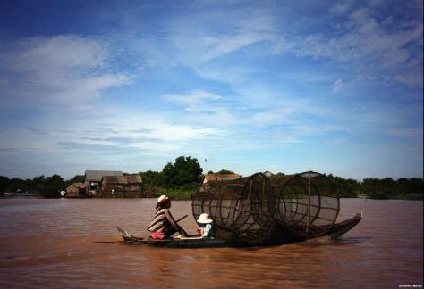 On the way to Battambang, Cambodia