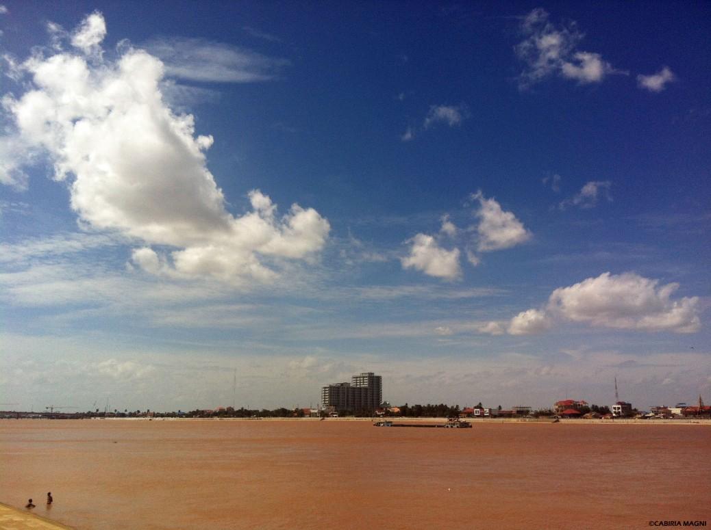 Phnom Penh Riverside Cambodia