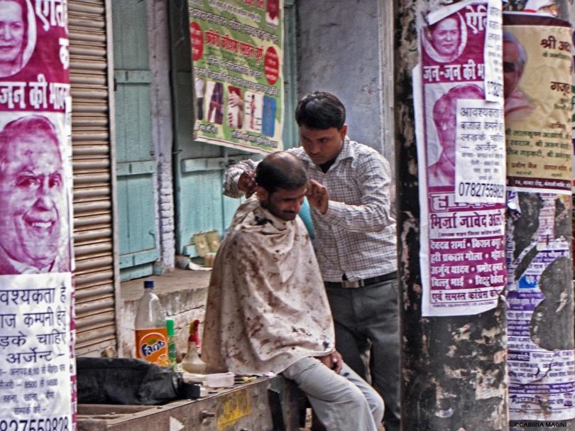 barber delhi street
