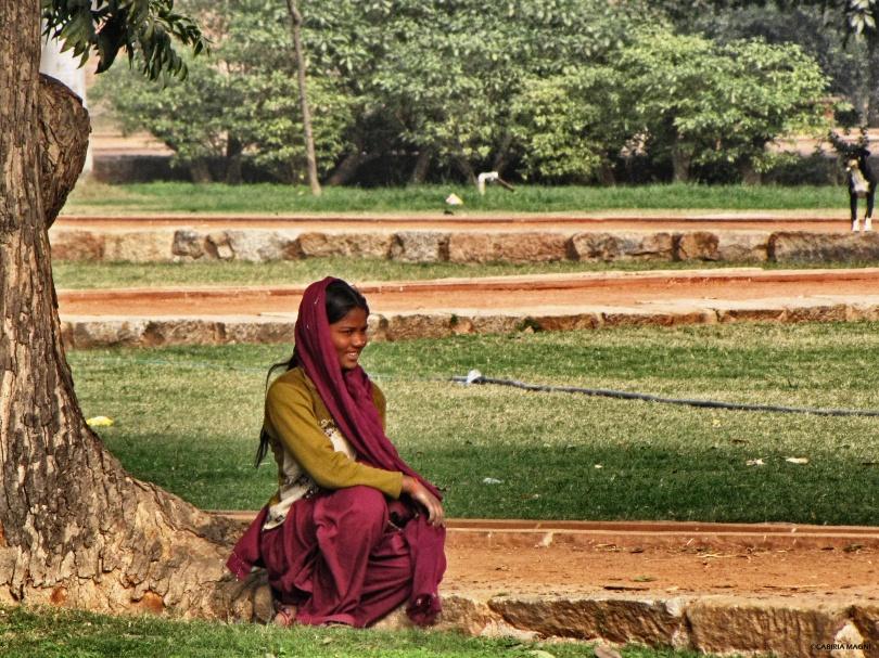 in the sun in delhi