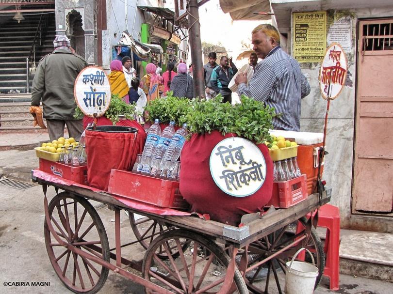 Street shop in Pushkar