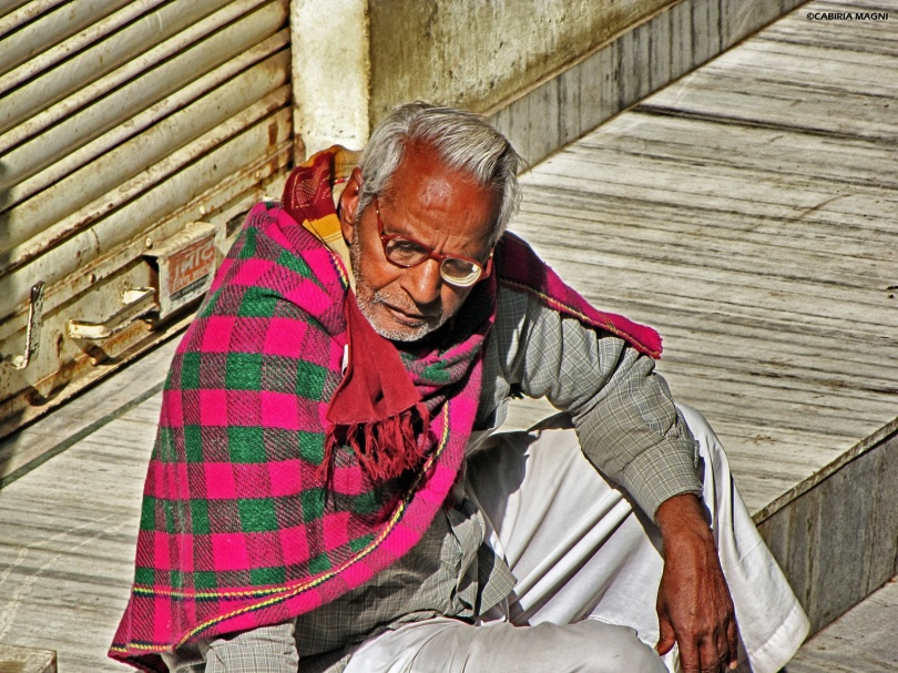 old man in rajasthan