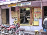 Barber shop, Pushkar