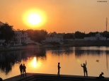 Sunset in Pushkar