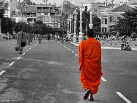 Buddhist monk Cambodia Cabiria Magni