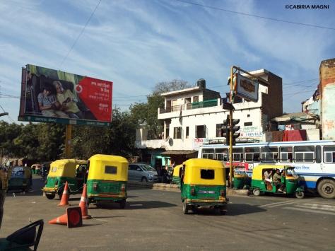 Auto Delhi tuk tuk India