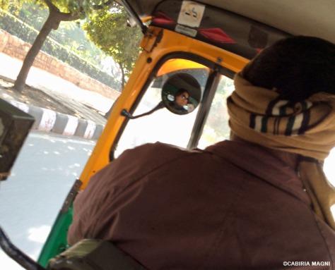 Tuk tuk Cabiria Magni Delhi
