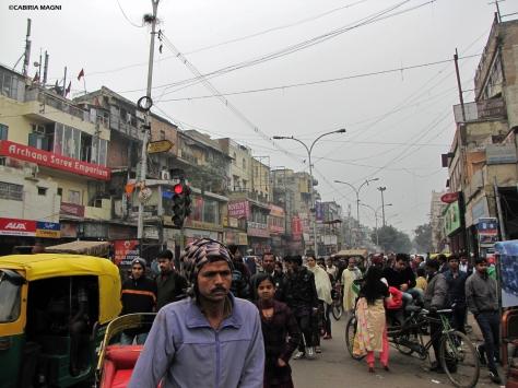 Chandni Chowk Road Old Delhi