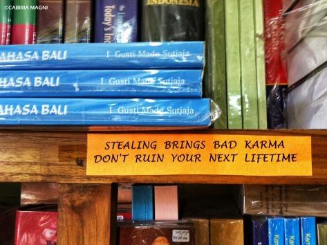 karma ubud library