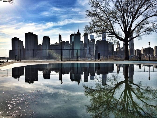 Manhattan dal Brooklyn Heights Park